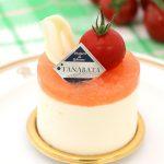 【トマトのジュレ】 ヨーグルトムースに爽やかなトマトジュレを合わせた、初夏らしいデザートが新登場!